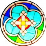 Rose Window - Cross