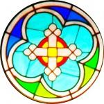 Rose Window - Cross