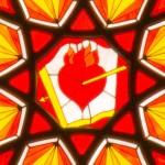 Rose Window - Heart