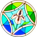 Rose Window - Iris